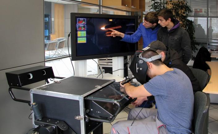 Training am Simulator-©C + P Bildung GmbH